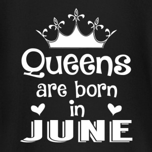 June - Queen - Birthday - 1 Baby Long Sleeve Shirts - Baby Long Sleeve T-Shirt