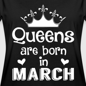 March - Queen - Birthday - 1 T-Shirts - Women's Oversize T-Shirt