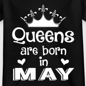 May - Queen - Birthday - 1 Camisetas - Camiseta adolescente