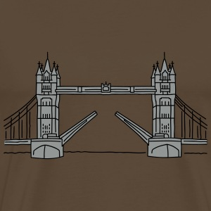 Londres Tower Bridge 2 Tee shirts - T-shirt Premium Homme