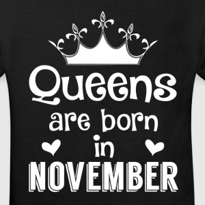 November - Queen - Birthday - 1 Shirts - Kinderen Bio-T-shirt