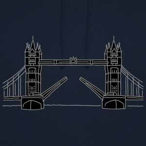 Londres Tower Bridge 2 Sweat-shirts - Sweat-shirt à capuche unisexe