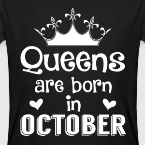 October - Queen - Birthday - 1 T-Shirts - Men's Organic T-shirt