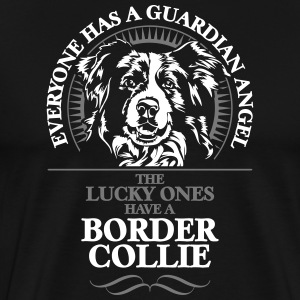 GUARDIAN ANGEL BORDER COLLIE - Männer Premium T-Shirt