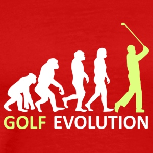 ++Golf Evolution++ - Männer Premium T-Shirt