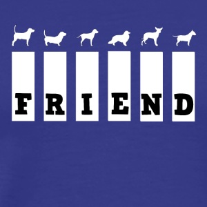 Dog Friend - Männer Premium T-Shirt
