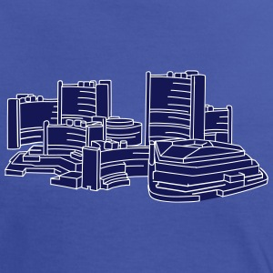 UNO-City Wien 2 T-Shirts - Frauen Kontrast-T-Shirt