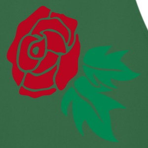 Green Rose  Aprons - Cooking Apron