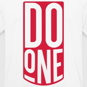 Do One, Mancunian Slang T-Shirts - Men's Breathable T-Shirt
