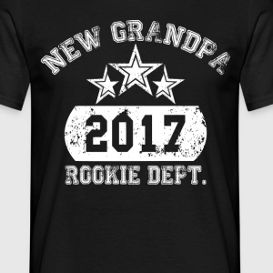 New Grandpa 2017 Rookie Dept. T-Shirts - Men's T-Shirt