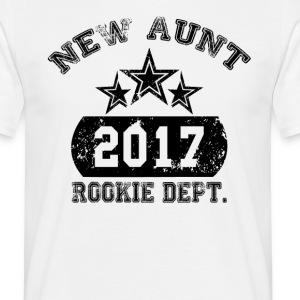 New Aunt 2017 Rookie Dept T-Shirts - Men's T-Shirt