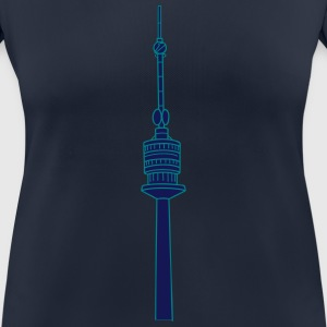 Danube Tower Vienna 2 T-Shirts - Women's Breathable T-Shirt