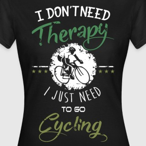 Cycling Therapy T-Shirts - Frauen T-Shirt