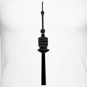 Danube Tower Vienna 2 Long sleeve shirts - Men's Long Sleeve Baseball T-Shirt
