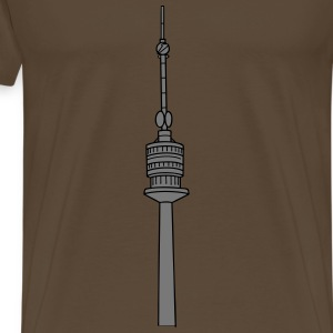 Danube Tower Vienna 2 T-Shirts - Men's Premium T-Shirt