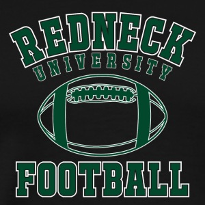 "Shirt ""Redneck University Football"" - Männer Premium T-Shirt"