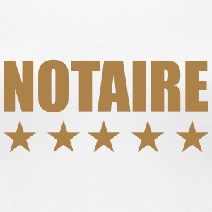 notaire / notariat / justice / droit Tee shirts - T-shirt Premium Femme