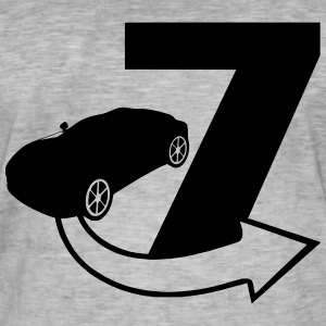 Seven - Fast and Furious - Männer Vintage T-Shirt