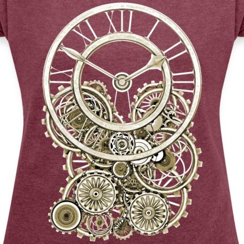 07 Elegant Vintage Steampunk Style Clock