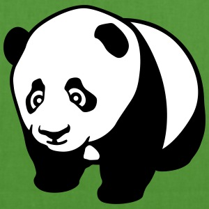 Panda cub profile Bags & Backpacks - EarthPositive Tote Bag