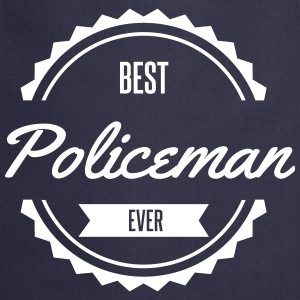 best policeman  Aprons - Cooking Apron
