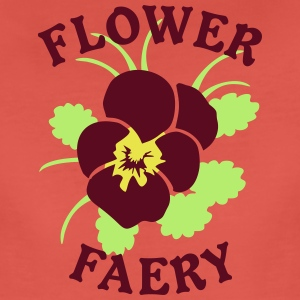 Flower Faery Logo Blossom Glower T-Shirts - Frauen Premium T-Shirt