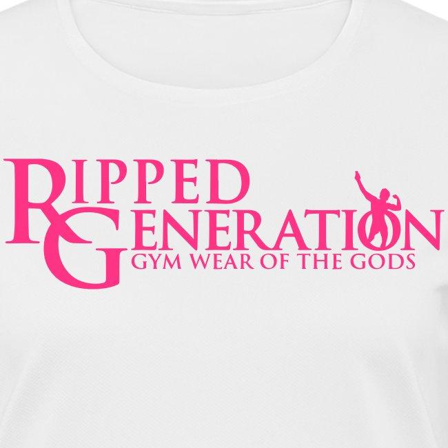 Naisten Tekninen T-Paita Ripped Generation
