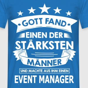 event_manager T-Shirts - Männer T-Shirt