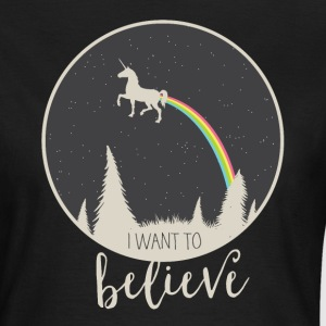 I want to believe T-Shirts - Frauen T-Shirt
