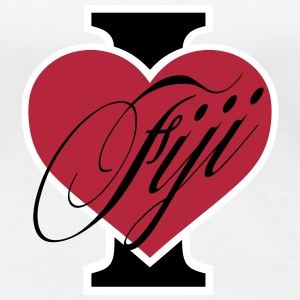 I love Fiji T-Shirts - Frauen Premium T-Shirt