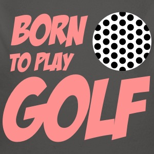 Born To Play Golf Babybody - Baby Bio-Langarm-Body