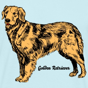 Hund Golden Retriever T-Shirts - Männer T-Shirt