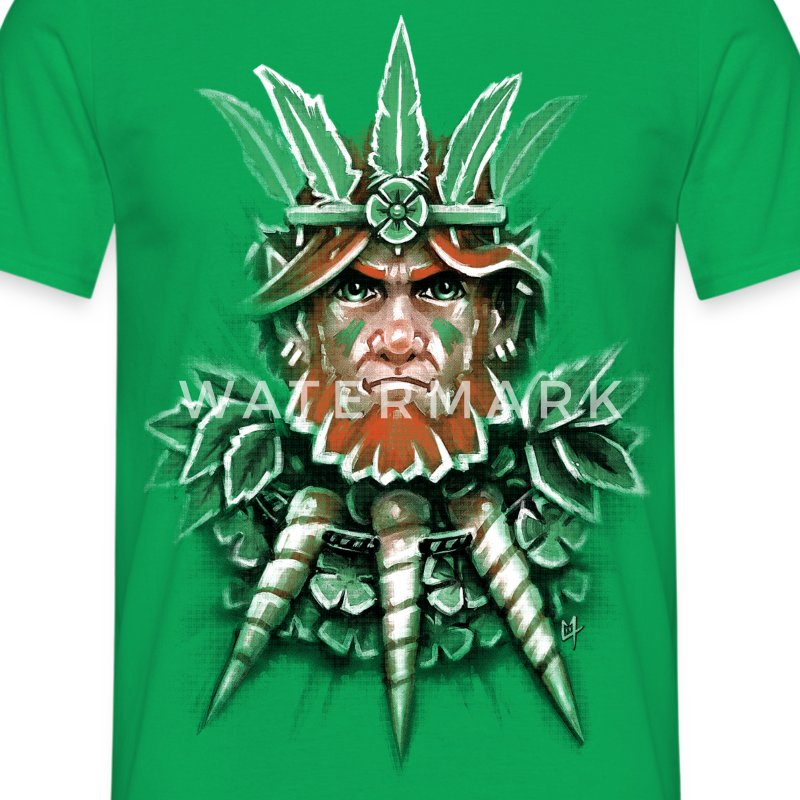 Wild Leprechaun T-Shirts - Men's T-Shirt