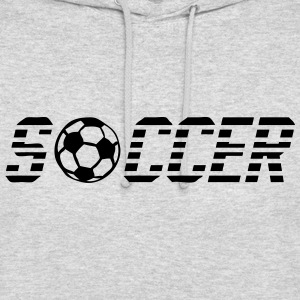 mot soccer ballon 902 football Sweat-shirts - Sweat-shirt à capuche unisexe