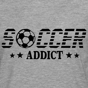 Soccer addict sport ball Long sleeve shirts - Men's Premium Longsleeve Shirt