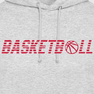 mot basketball ballon 902 Sweat-shirts - Sweat-shirt à capuche unisexe