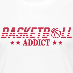 Basketball addict sport ball Long Sleeve Shirts - Women's Premium Longsleeve Shirt