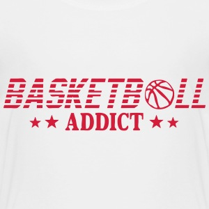 Basketball addict sport ball Shirts - Kids' Premium T-Shirt