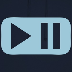 Pause play button 802 Hoodies & Sweatshirts - Unisex Hoodie