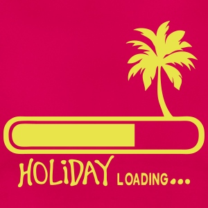 holiday_loading Vakanz Palm Zitat 9 T-Shirts - Frauen T-Shirt