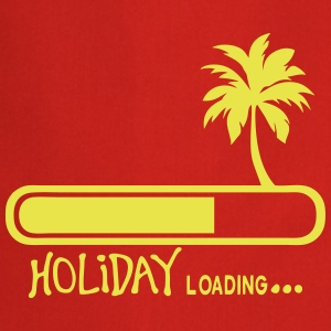 holiday loading citation palmier vacance Tabliers - Tablier de cuisine