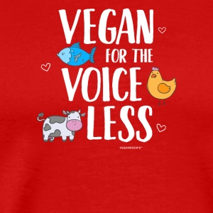Vegan For The Voiceless - Männer Premium T-Shirt