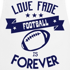 football love fade quote forever  Aprons - Cooking Apron