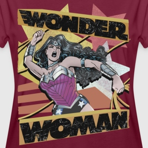 DC Comics Wonder Woman Collage Golden Lasso - Oversize-T-shirt dam