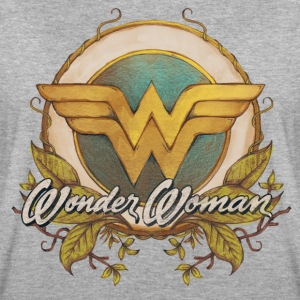 DC Comics Wonder Woman Watercolour Nature Logo - Dame oversize T-shirt