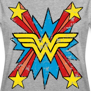 DC Comics Wonder Woman Logo Sterne Comic - Frauen Oversize T-Shirt