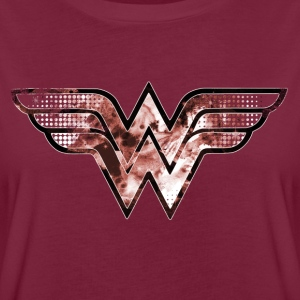 DC Comics Wonder Woman Logo Galaxie - T-shirt oversize Femme