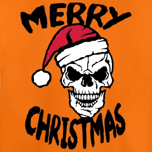 Merry Christmas skull cap bonnet Shirts - Teenage Premium T-Shirt