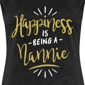 Happy Nannie Shirt - Women's Premium T-Shirt