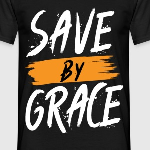 Save by Grace Christentum - Männer T-Shirt